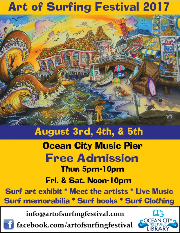 17th Annual Art of Surfing