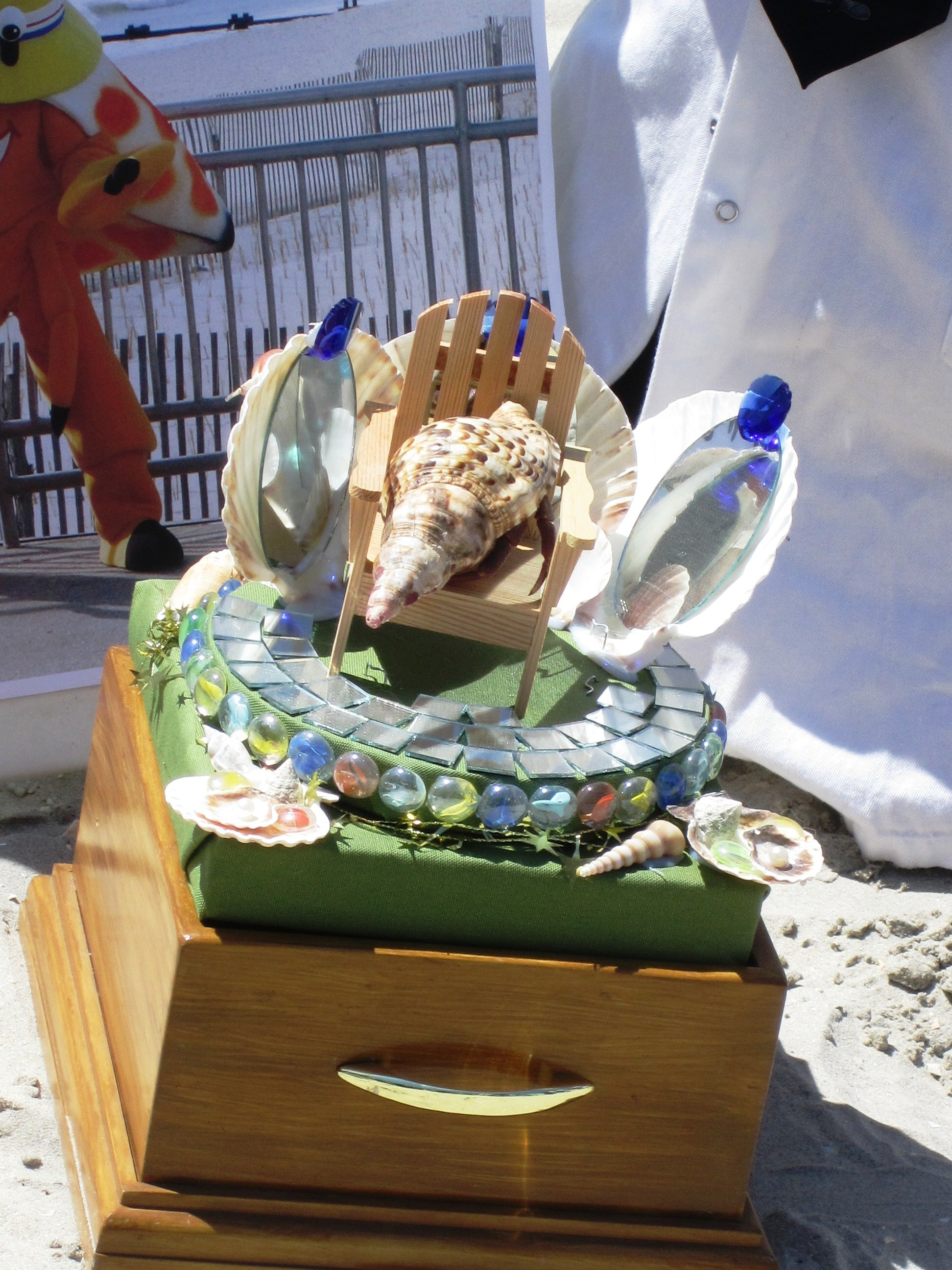 Miss Crustacean Hermit Crab Beauty Pageant