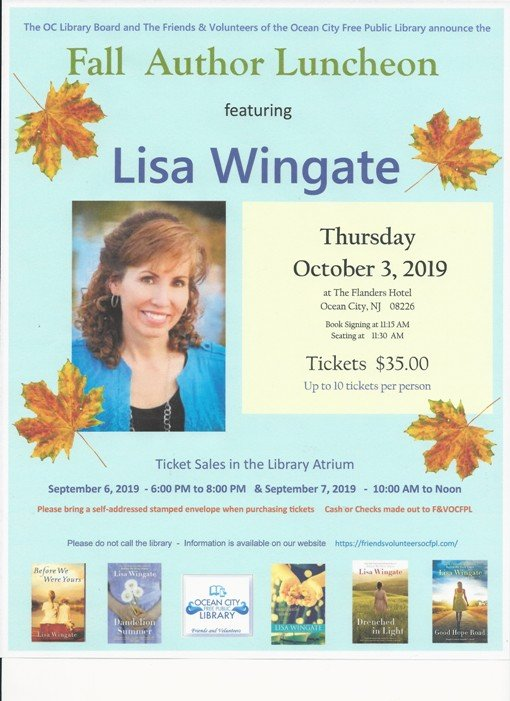 Fall Author Luncheon with Lisa Wingate