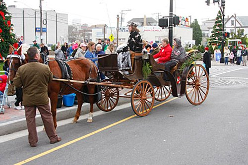 FREE Horse & Carriage Ride