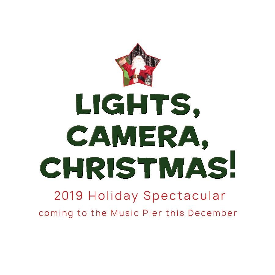 Ocean City Theatre Company presents Lights, Camera, Christmas : 2019 Holiday Spectacular