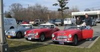 Austin Healy Sport and Touring Encounter 2019