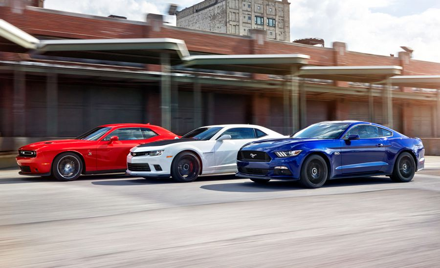 Modern Muscle Car Invasion